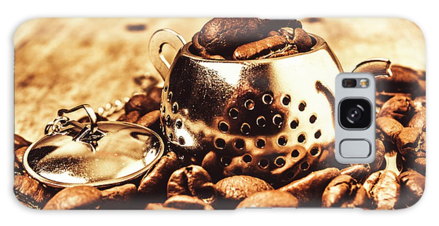 Afternoon Tea Galaxy Case featuring the photograph The Coffee Roast by Jorgo Photography - Wall Art Gallery