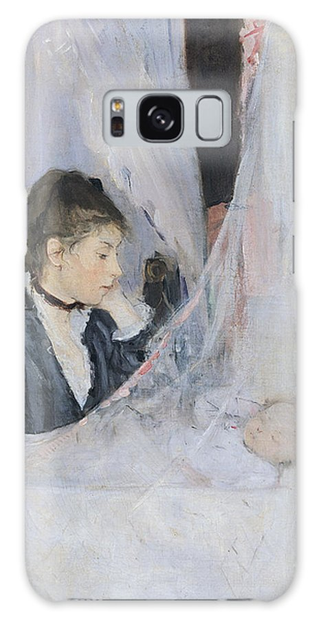 Mother Galaxy S8 Case featuring the painting The Cradle by Berthe Morisot