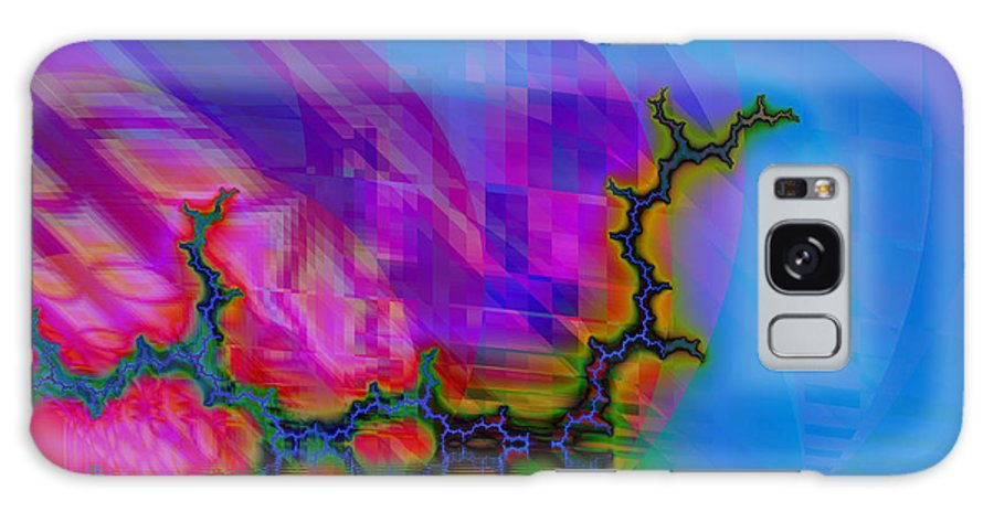 Fractal Galaxy Case featuring the digital art The Crawling Serpent by Frederic Durville