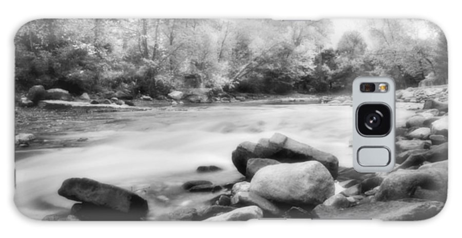 Bedford Galaxy Case featuring the photograph The Creek by Kenneth Krolikowski