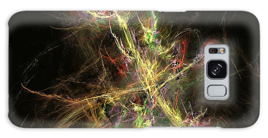 Abstract Digital Photo Galaxy S8 Case featuring the digital art The Dance 1 by David Lane