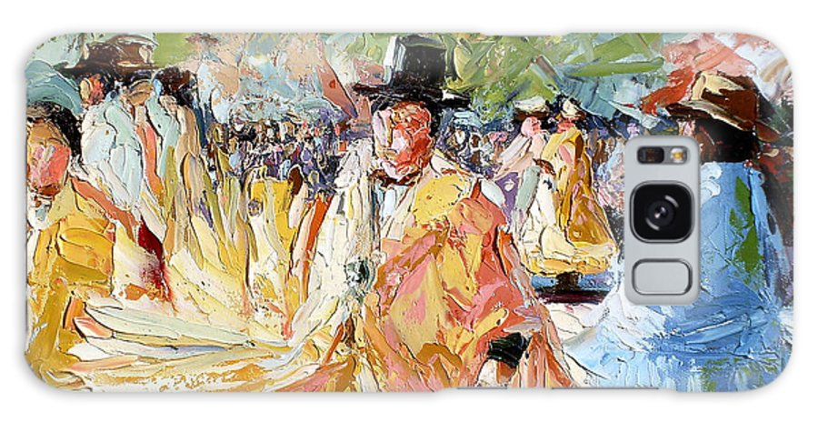 La Paz Galaxy S8 Case featuring the painting The Dance At La Paz by Lewis Bowman