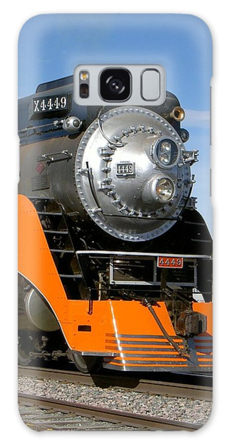 Train Galaxy S8 Case featuring the photograph The Daylight 4449 by Carolyn Jacob