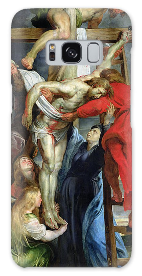 The Descent From The Cross Galaxy S8 Case featuring the painting The Descent From The Cross by Rubens