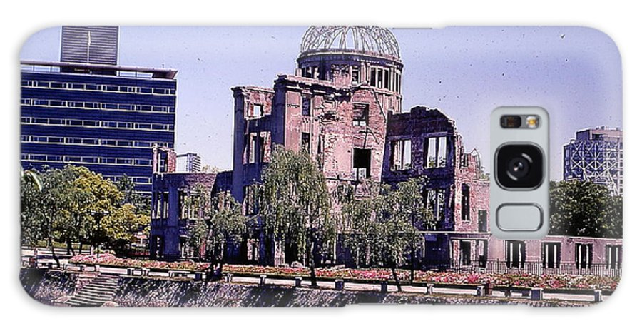 Nature Galaxy S8 Case featuring the photograph The Dome In Hiroshima by Robert Margetts