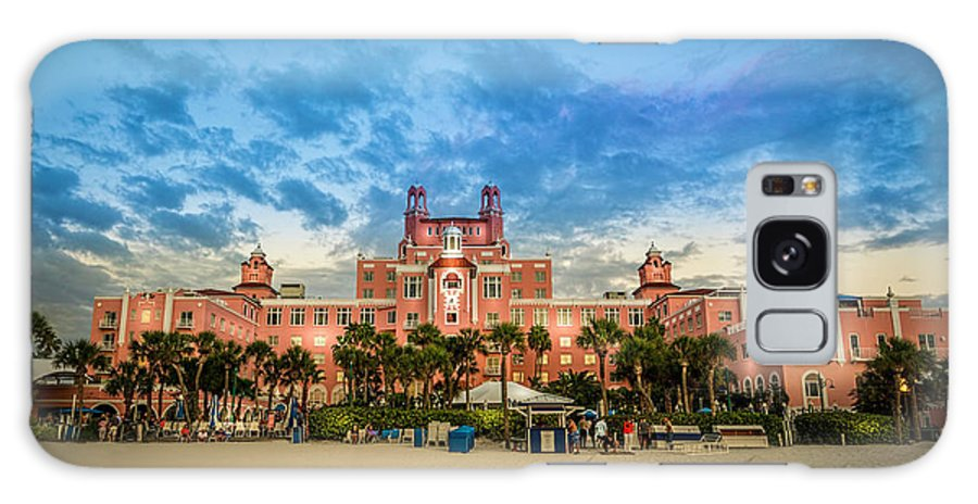 Florida Galaxy Case featuring the photograph The Don Cesar by Marvin Spates
