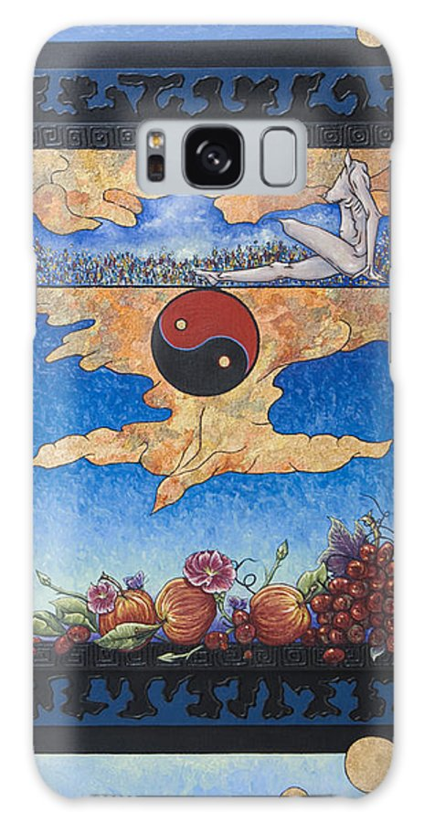 Karma Galaxy S8 Case featuring the painting The Dream by Judy Henninger