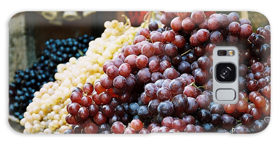 Grapes Galaxy Case featuring the photograph The Drink Of Italy by Kathy Schumann