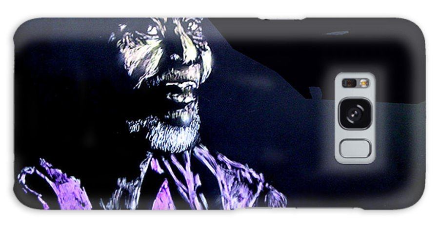 Galaxy S8 Case featuring the mixed media The Elder by Chester Elmore
