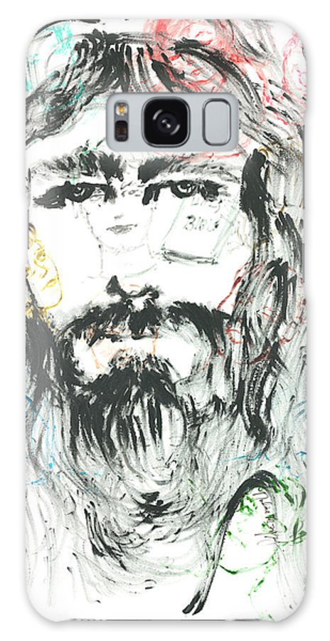 Jesus Galaxy Case featuring the painting The Emotions Of Jesus by Nadine Rippelmeyer