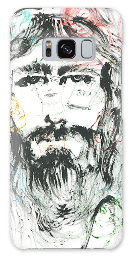 Jesus Galaxy S8 Case featuring the painting The Emotions Of Jesus by Nadine Rippelmeyer