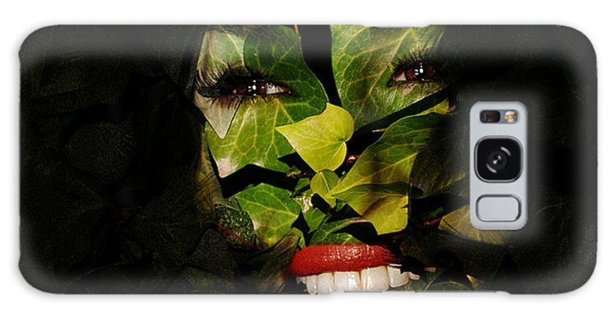 Clay Galaxy Case featuring the photograph The Eyes Of Ivy by Clayton Bruster