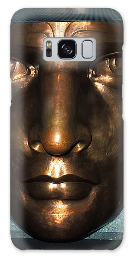Bronze Galaxy S8 Case featuring the photograph The Face Of Liberty by Carl Purcell