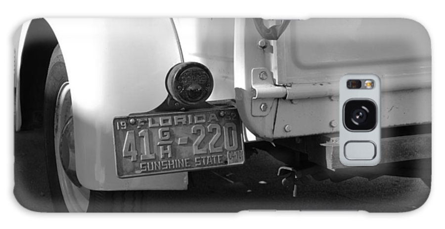Black And White Galaxy S8 Case featuring the photograph The Florida Dodge by Rob Hans