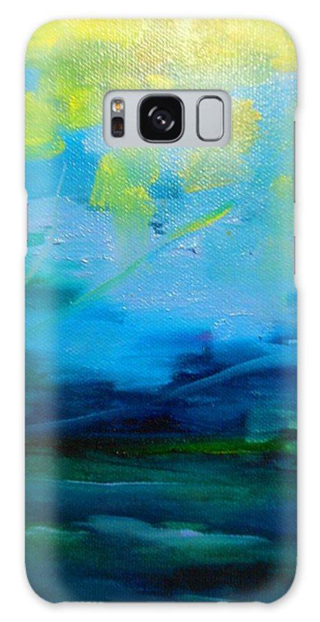 Truck Galaxy S8 Case featuring the painting The Fog by Lord Frederick Lyle Morris - Disabled Veteran