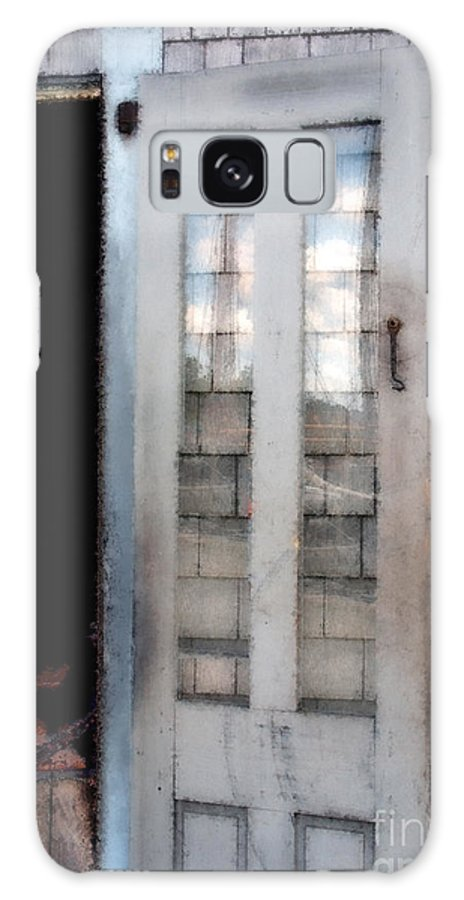 Door Galaxy S8 Case featuring the painting The Forge And The Ship by RC DeWinter
