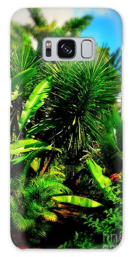 Plant Galaxy S8 Case featuring the photograph The Garden Path by Perry Webster