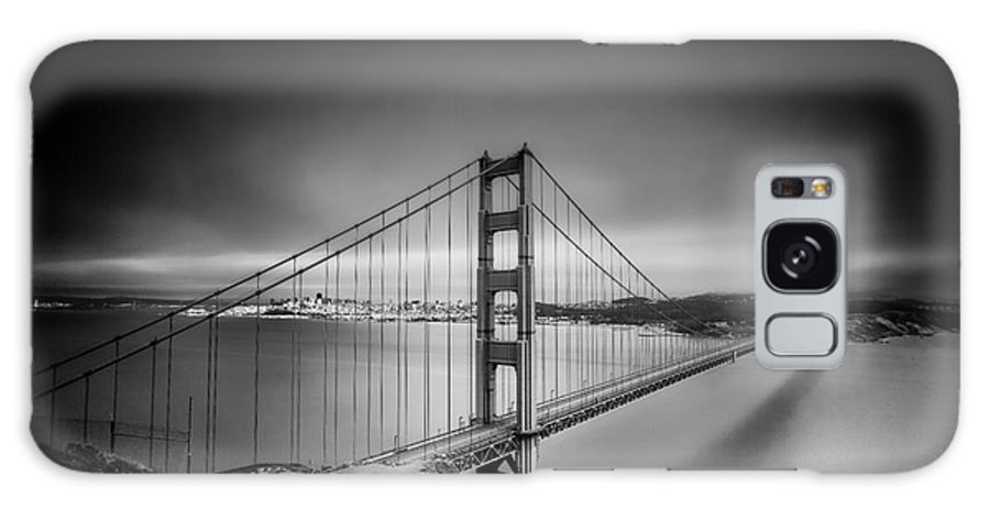 Bridge Galaxy S8 Case featuring the photograph The Golden Gate Bridge by James A Crawford