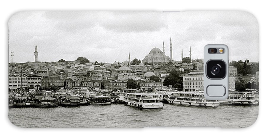 Istanbul Galaxy S8 Case featuring the photograph The Golden Horn by Shaun Higson