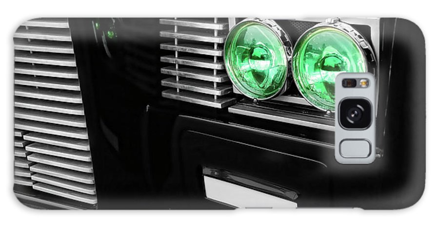 The Galaxy S8 Case featuring the photograph The Green Hornet Black Beauty Clone Car by Gordon Dean II
