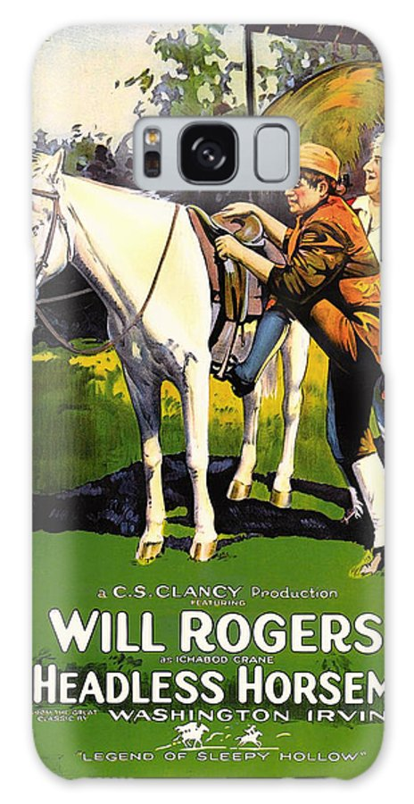 Movie Galaxy S8 Case featuring the mixed media The Headless Horseman 1922 by Mountain Dreams