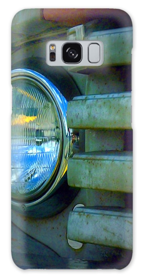 Car Galaxy S8 Case featuring the photograph The Headlight by Tara Turner