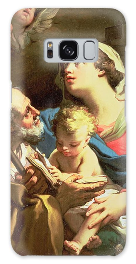 The Holy Family Galaxy S8 Case featuring the painting The Holy Family by Gaetano Gandolfi