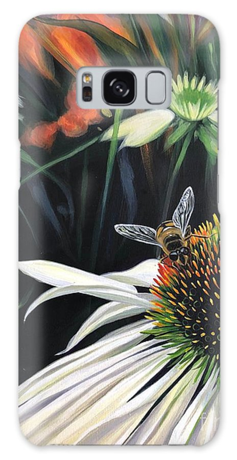 Daisy Galaxy Case featuring the painting The Honeythief by Hunter Jay