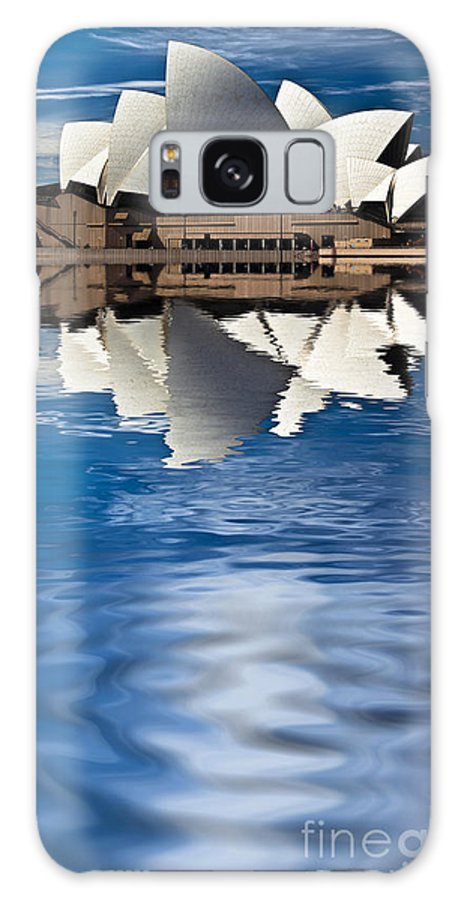 Sydney Opera House Sydney Harbour Galaxy S8 Case featuring the photograph The Iconic Sydney Opera House by Sheila Smart Fine Art Photography
