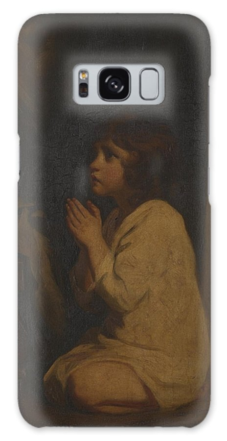 Sir Joshua Reynolds 1723–1792  The Infant Samuel Galaxy S8 Case featuring the painting The Infant Samuel by Sir Joshua Reynolds