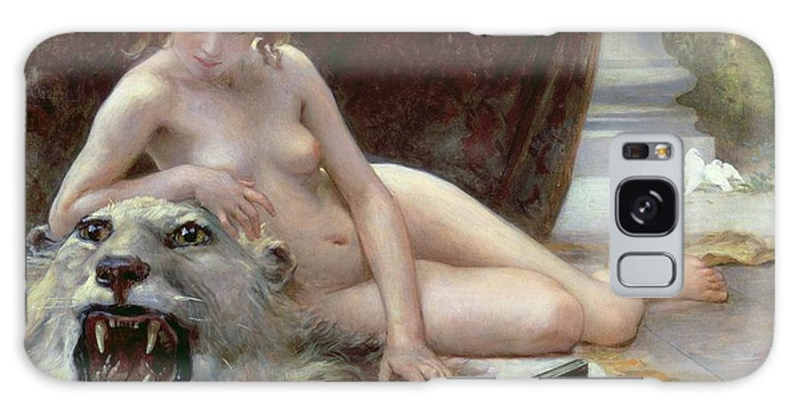 Nude Galaxy S8 Case featuring the painting The Jewel Case by Guillaume Seignac