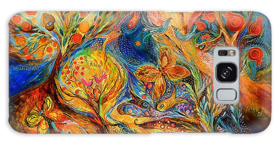Original Galaxy S8 Case featuring the painting The Jordan River by Elena Kotliarker