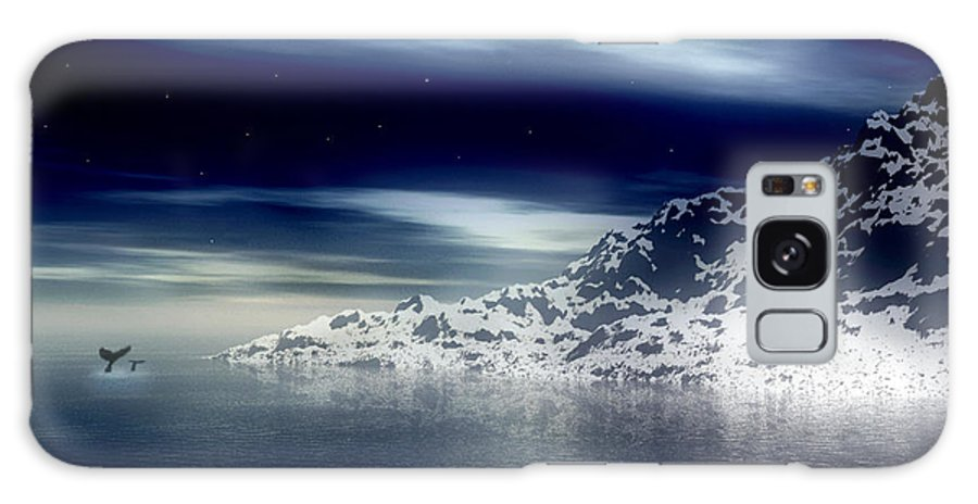 Arctic Galaxy Case featuring the digital art The Journey Together by Kenneth Krolikowski