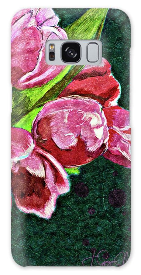Spring Galaxy S8 Case featuring the digital art The Joy Of Spring by Jo-Anne Gazo-McKim