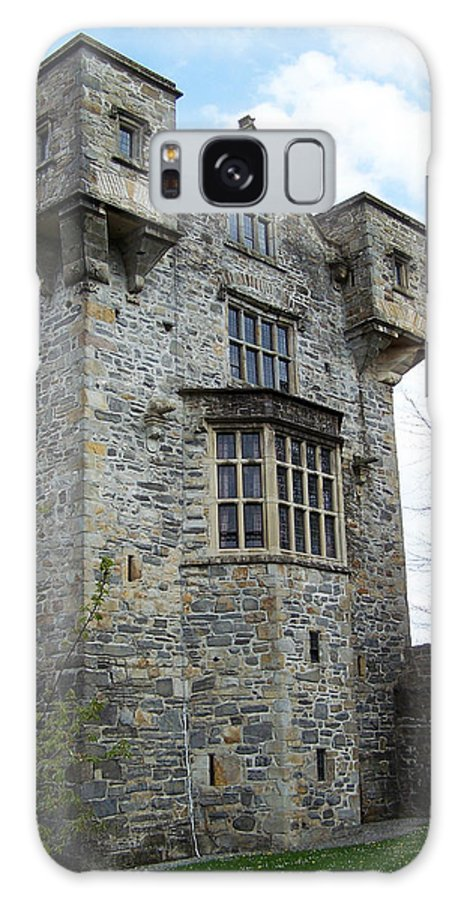 Ireland Galaxy Case featuring the photograph The Keep At Donegal Castle Ireland by Teresa Mucha