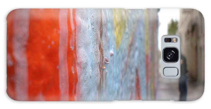 Urban Artwork Galaxy S8 Case featuring the photograph The Layers Of Time by Chandelle Hazen