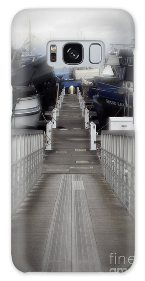 Art Galaxy S8 Case featuring the photograph The Long Walk To Work by Clayton Bruster