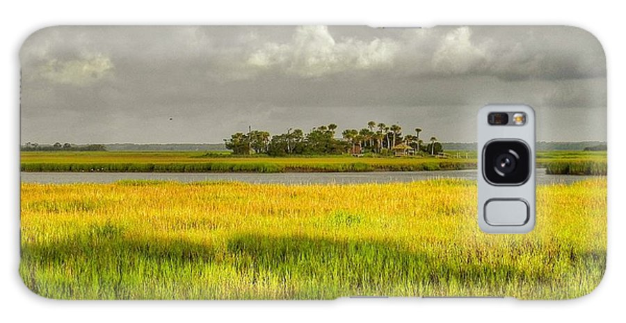 Marsh Galaxy Case featuring the photograph The Lovely Low Country by Patricia Greer