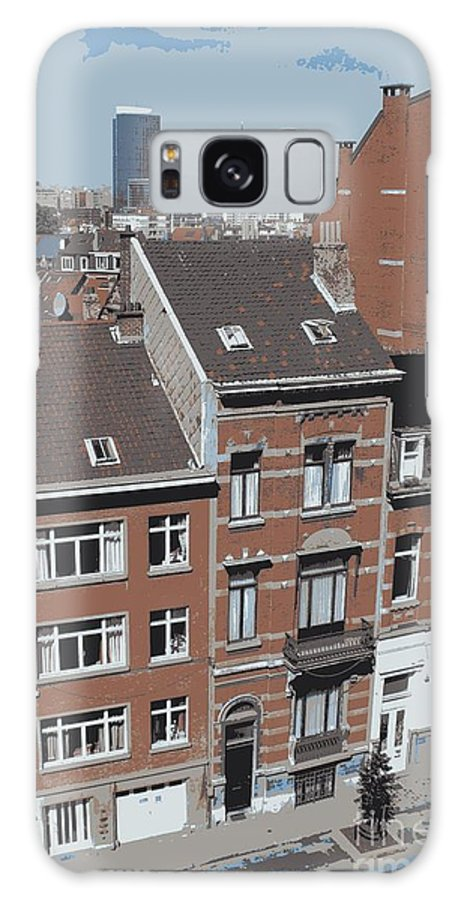Brussels Galaxy S8 Case featuring the photograph The Many Layers Of Brussels by Carol Groenen