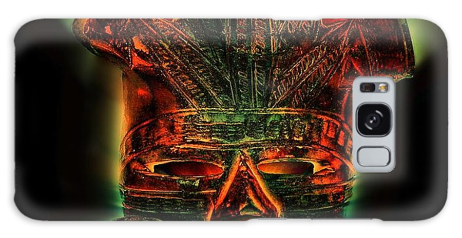 Native Art Galaxy S8 Case featuring the photograph The Mask #2 by Andy Klamar
