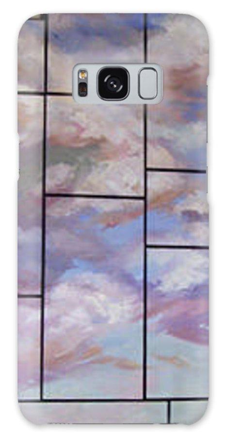 Betty Jean Billups Galaxy S8 Case featuring the painting The Monarchs by Betty Jean Billups
