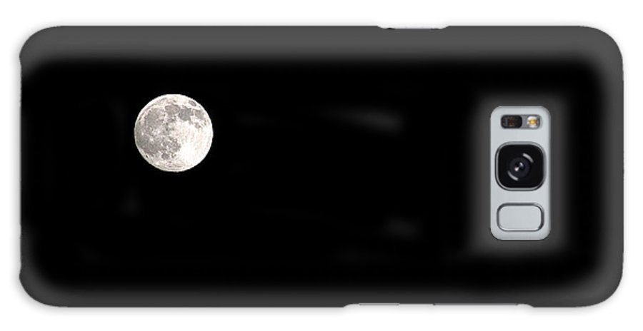Clay Galaxy Case featuring the photograph The Moon by Clayton Bruster