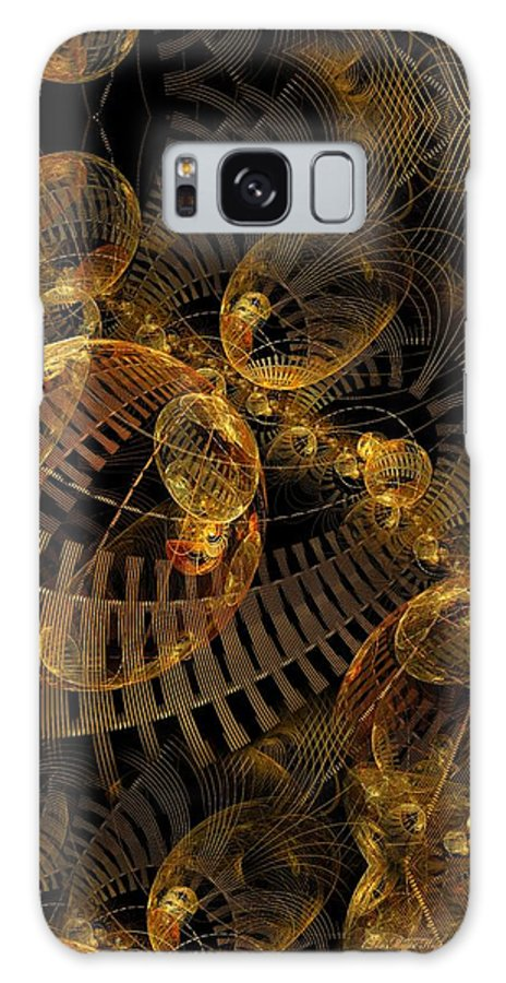 Fractal Galaxy S8 Case featuring the digital art The Mystic Highway by Gayle Odsather