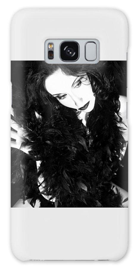 Artsy Galaxy S8 Case featuring the photograph The Mystique - Self Portrait by Jaeda DeWalt