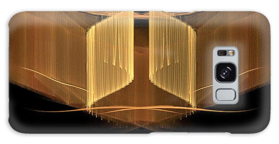 Christian Art Galaxy S8 Case featuring the digital art The Narrow Gate by R Thomas Brass