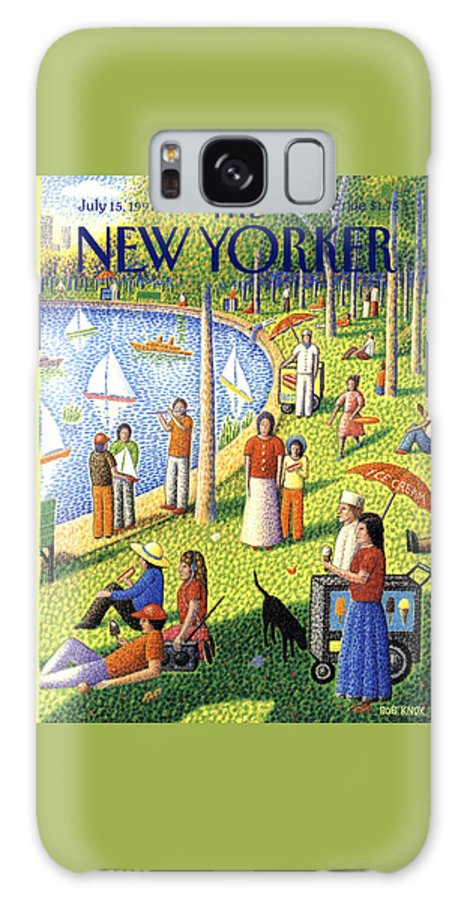The New Yorker July 15th, 1991 Galaxy Case
