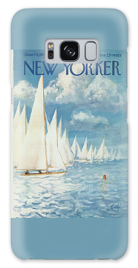 New Yorker Cover - June 13th, 1959 Galaxy Case