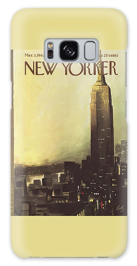 The New Yorker Cover - March 3rd, 1962 Galaxy Case