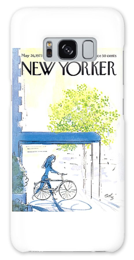 The New Yorker Cover - May 26th, 1973 Galaxy Case