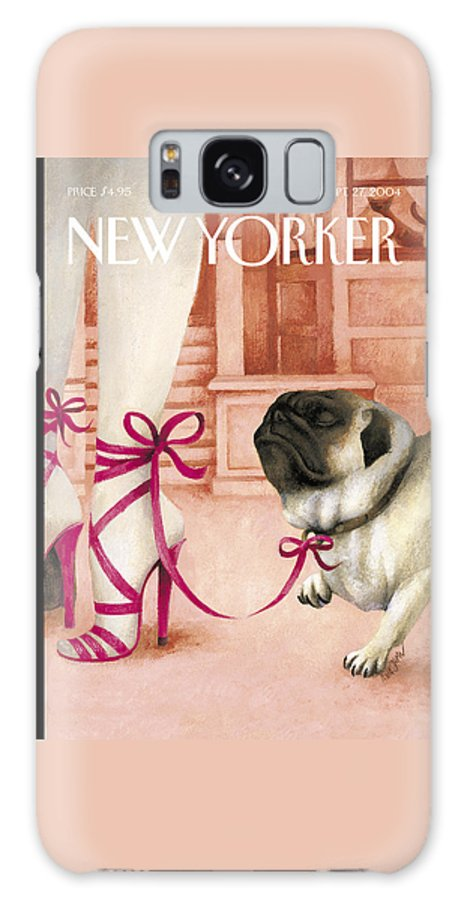 Brought Galaxy S8 Case featuring the painting The New Yorker Cover - September 27th, 2004 by Ana Juan